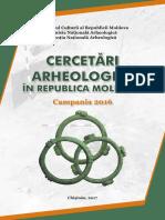 Cercetări arheologice în Republica Moldova