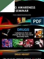 Drug Awareness Lecture (b)