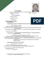 CV Silas - Sept 13