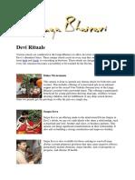 Devi Rituals