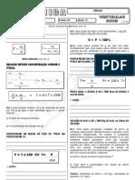 Química - Pré-Vestibular Impacto - Molaridade - Concentração Comum e Título