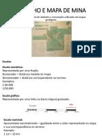 I-Reconhecimento de Símbolos e Convenções Utilizados Em Mapas Geológicos