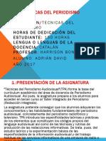 Trabajo Tecnicas Del Periodismo.ppt
