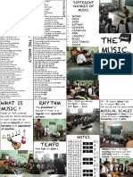 Music Pamphlet made for Municipal School - Varun Kapadia
