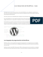 Aprender PHP WordPress