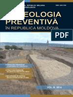 Arheologia preventivă în Republica Moldova, vol. III, Chișinău 2017