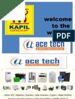 Acetech Presentation JAN-16
