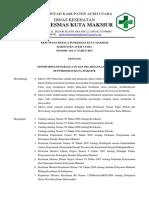 Keputusan Ka. Puskesmas Ttg Monitoring Dan Pelaksanaan UKM Di Puskesmas Kuta Makmur