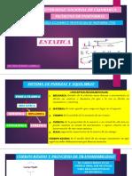 Escuela Academico Profesional de Ingenieria Civil Estatica