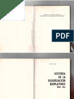 Orsi René - Historia de La Disgregación Rioplatense