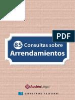 eBook 85 Consultas Sobre Arrendamientos