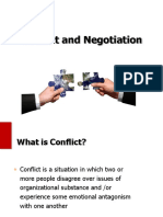 081116 Conflict and Negotiation