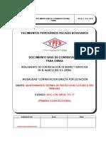 DBC-CDL-119 Prot Catodica Red Primaria