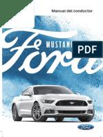 2017 Mustang Owner Manual Version 1 Om ES ES 05 2016