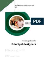 Industry Guidance Principal Designer