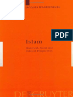 (Religion and Reason) Jacques Waardenburg-Islam_ Historical, Social, and Political Perspectives (Religion and Reason)-Walter de Gruyter (2002) (1).pdf