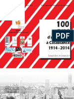 100 Ans d'Urbanisme à Casablanca 1914 - 2014
