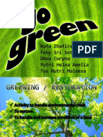 Go Green Ppt