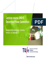 Decentral power Generation