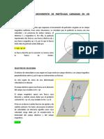 APLICACIONES DEL MOVIMIENTO DE PARTÍCULAS CARGADAS EN UN CAMPO MAGNÉTICO.doc
