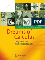 Johan Hoffman, Claes Johnson, Anders Logg-Dreams of Calculus_ Perspectives on Mathematics Education-Springer (2004)
