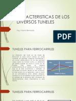 Caracteristicas de Los Diversos Tipos de Tuneles