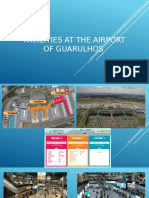 Facilities at the Airport of Guarulhos