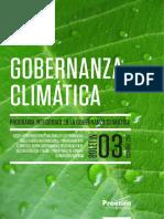 Boletín Gobernanza Climática N°3