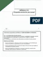Empoderamiento y Género (Contenidos y Objetivos) Pág 63 y 64