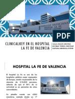 Clinicalkey en El Hospital La Fé de Valencia