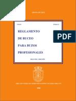Reglamento de Buceo Para Buzos Profesionales