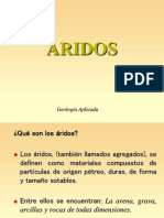 introduccion ARIDOS