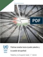 Informe ONU Apartheid 2017