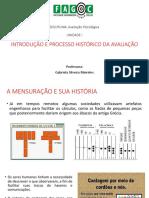 Aula 1 Introduçao e Processo Historico Da Avaliaçao