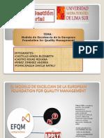 Modelos de Gestion Europeo