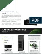 Datasheet Flatpack2 380V Rectifier