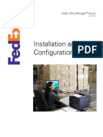 FedEx Ship Manager Server v 17.0.1 Installation and Configuration Guide