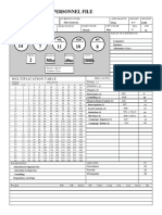 Pam Poovey Character Sheet (Archer/ James Bond RPG)