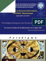 El paradigma emergente y las ciencias de la complejidad
