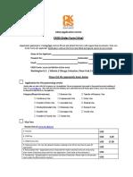 Ckgs Order Form India Visa