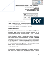 Cas. Lab. Nº 13768-2016-Lambayeque