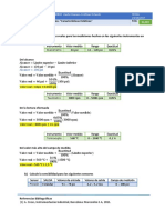 Caracteristicas estaticas de los instrumentos (Ejercicios)