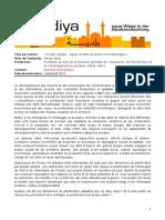 Projets Urbains Enjeux Et Defis Au Maroc