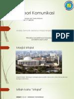 Teori Komunikasi Masjid Istiqlal