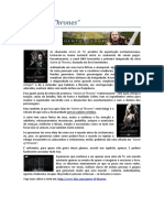 A Série Game of Thrones e o Cristianismo