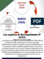 Ley Orgánica de Municipalidades Nª 27972.Ppt 16 Setiembre 2017 (2) (1)