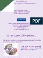 Lateralización, Lenguaje y Cerebro Escindido.pptx
