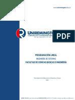 06 Programacion Lineal