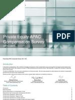 2014 15 Asia Private Equity Compensation Survey v4