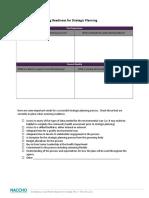 Strategic Planning Worksheets 4-17-121